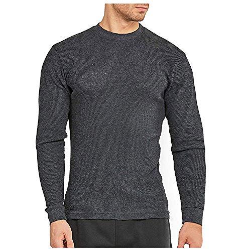 Herren Pullover Basic Langarmshirt Slim Fit Funktionsshirt Langarm Fitnessshirt Bodybuilding Laufshirt Running T-Shirt…