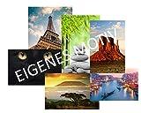 Infrarotheizung Bildheizung PREMIUM rahmenlos mit Bild, 750 Watt, 120x60x1,5 cm, eigenes Bild nach Wahl – Eigenmotiv - Wunschbild - Foto