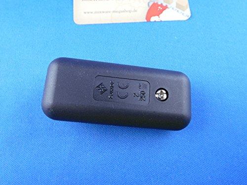 Schnur-Zwischenschalter Mit Schraubkontakten Schwarz, 2-polig, 2 A, 250 V~, Past für LED, SMD - 3