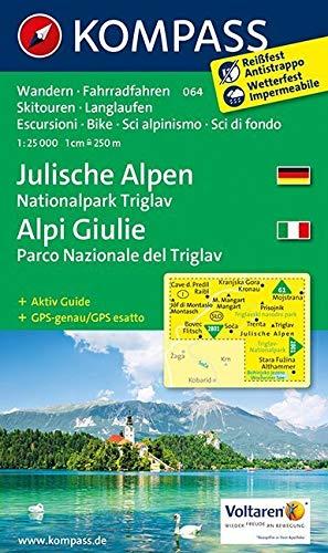 JULISCHE ALPEN/ALPI GIULIE 064 1/25.000 PDF Books