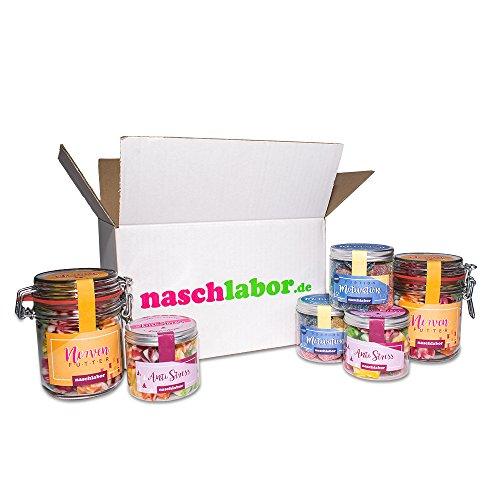 Preisvergleich Produktbild Office Survival Kit von Naschlabor - Der Süßigkeitenmix als Studentenfutter oder fürs Büro - Beruhige deine Nerven und die deiner Kollegen