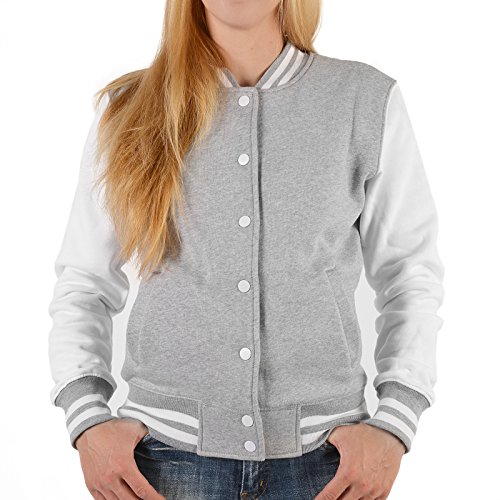 Damen College Jacke für Marilyn Monroe Fans – Schönheit im Kleid - stylische Trainingsjacke modernes Design mit coolem (Kleid Monroe Birthday Marilyn Happy)