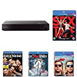 Sony BDP-S6700 Blu-Ray DVD Player with Five Comedy-Pack Films Bundle
