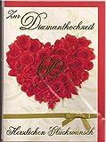 Glückwunschkarte Zur Diamanthochzeit Herzlichen Glückwunsch - Depesche 21