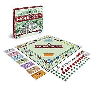 Hasbro Spiele 00009398 – Monopoly Classic, Familienspiel