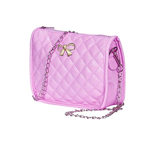 Produp Womens Handtasche Bow Chain Schultertasche Tote Geldbörse Leder Messenger Hobo Bag
