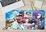 AJ WALLPAPER 3D Yu Gi Oh 1336 Japan Anime Antiscivolo Ufficio Scrivania Topo Stuoia Gioco IT Angelia (W90cmxH40cm(35'x18'))