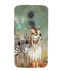 EPICCASE fairy tale Mobile Back Case Cover For Moto X 2nd Gen (Designer Case)