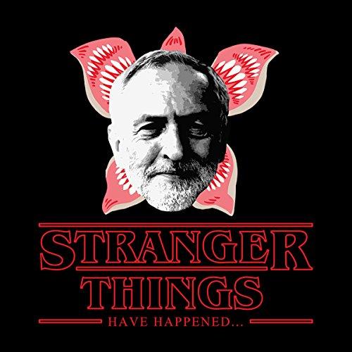 Jeremy Corbyn Stranger Things Have Happened Women's T-Shirt Black