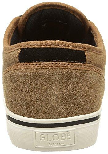 Globe Motley Unisex-Erwachsene Sneakers Braun (tobacco/antique)