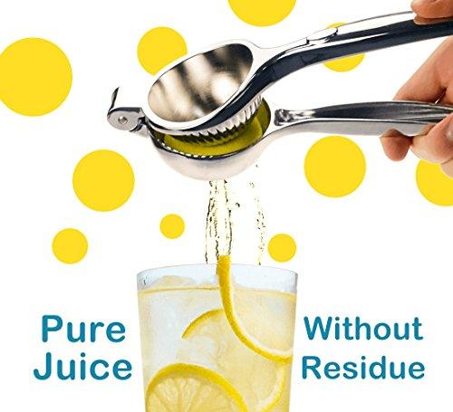 confronta il prezzo MiMoo spremi limone, extra grande ciotola metallo spremiagrumi spremi agrumi arancio lime spremiagrumi Juicer spremiagrumi manuale, anti-corrosione e lavabile in lavastoviglie miglior prezzo