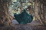 Velvet cape green hooded cloak, medieval elven fantasy costume cape with hood