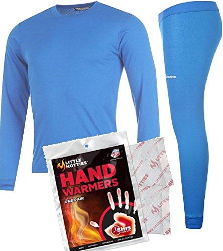 Junior-Campri-Base-Layer-Bundle-Thermal-Top-Pant-Hand-Warmer-Set-Unisex-Sports