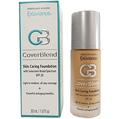 Exuviance - CoverBlend Skin Caring Foundations SPF 20 Blush Beige by Exuviance