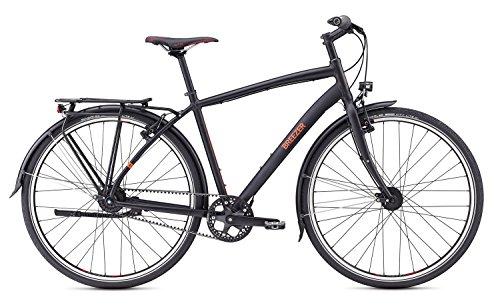 Breezer Beltway 8V+ Urban/Trekking Bike 2017 (Satin Black, 58cm)