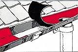 Westfalia Dach Reparaturband 75 mm, 10 m lang, Bleifarben, selbstklebend