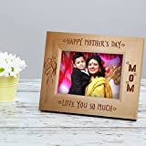 TiedRibbons Mothers Day Special Gifts | Gift For Mother In Law | Gifts For Mom On Mothers Day | Mothers Day Gifts | Personalized Photo Frame(Natural Wood)