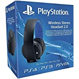 Sony - Headset Official Gold Wireless 7.1 Surround (PS4, PS3, PS Vita)