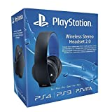 PS4: Sony PlayStation Wireless Stereo Headset 2.0 - Black (PS4/PS3/PS Vita)