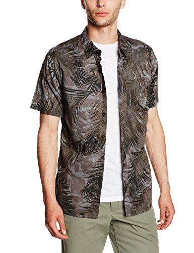 G.S.M. Europe - Billabong Herren Hemd POOLSIDER Short Sleeve WOVEN Black