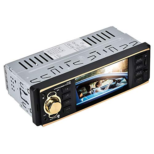 Lazmin 4.1In Single FM Bluetooth FM Radio 4019B Lettore MP5 per Auto, Lettore multimediale per Auto Stereo HD con inversione è venuto