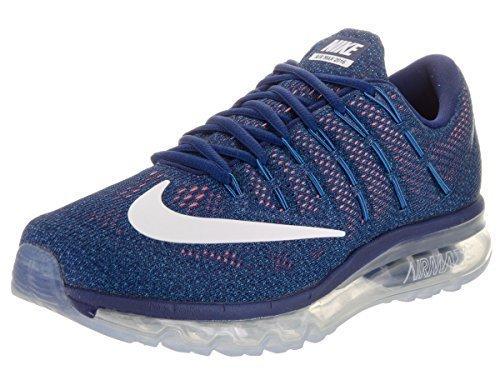 Gipfel Luft (Nike Herren Luft Max 2016 Loyal blau / Gipfel weiß Laufschuhe UK 10 EU 45 US 11)