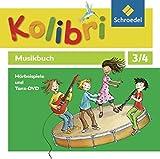 Kolibri - Musikbücher / Kolibri - Musikbücher: Allgemeine Ausgabe 2012: Allgemeine Ausgabe 2012 / Hörbeispiele und Tanz-DVD 3 / 4