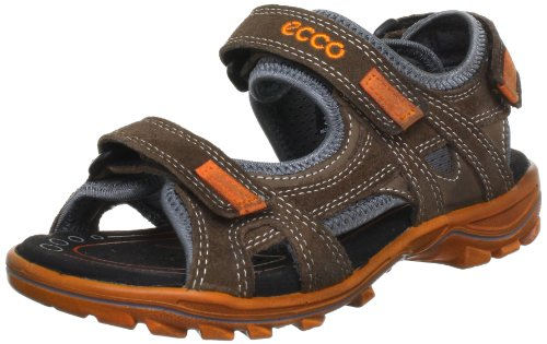 ECCO URBAN SAFARI KIDS 079842, Jungen Sandalen, Orange (Cocoa Brown/Cocoa Brown 55778), EU 34