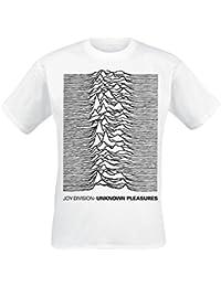 Joy Division Unknown Pleasures T-shirt blanc