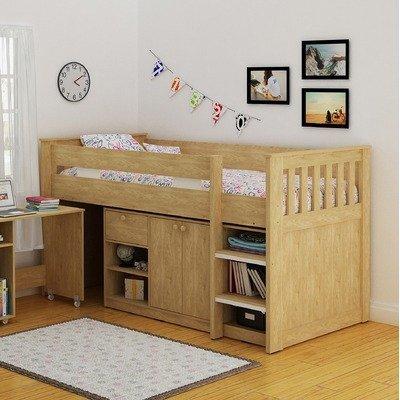 Merlin Study Bunk Bed Finish: Oak