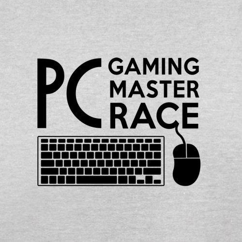 PC Gaming Race - Herren T-Shirt - 13 Farben Hellgrau