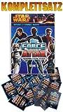 TOPPS - Star Wars Force Attax - SERIE 4 - Komplettsatz ALLE 240 Karten mit Sa...
