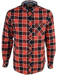 Para hombre franela compruebe camisa by Tokyo Laundry  Wilding de manga  larga 402f06b364f
