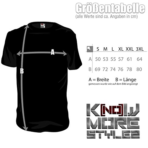 "Herren Shirt Hardcore ""BLOODY BARS"" Gabber Techno Schwarz"