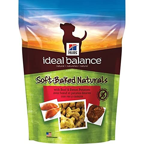 Hills Ideal Balance Soft-Baked Naturals with Beef and Sweet Potatoes Dog Treat, NET WT 8 oz by Hill's Ideal Balance