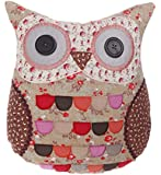 Sass & Belle Florence Owl Cushion with Inner