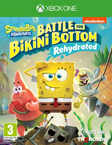 Spongebob SquarePants: Battle for Bikini Bottom - Rehydrated (Xbox One) (Xbox One) Best Price and Cheapest