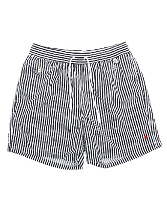 POLO Ralph Lauren - Shorts de bain - Homme - Maillot de Bain Rayé Classic Bleu - XL