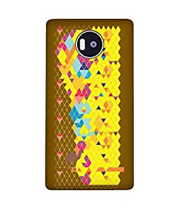 Stripes And Elephant Print-65 Microsoft Lumia 950 XL Case