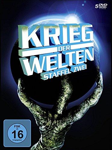Krieg der Welten - Staffel 2 (20 Folgen, remastered, deutsche & englische Sprachfassung, Digipak) [5 DVDs]
