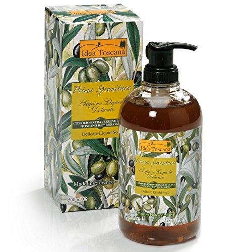 Idea Toscana - Flüssigseife Liquid Soap - Prima Spremitura Naturkosmetik aus dem Herzen der Toskana