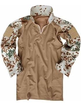 Mil-Tec Tactical - Chaqueta de camuflaje marrón tropentarn Talla:XXL