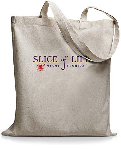 StyloBags Jutebeutel / Tasche Slice of Life Natur