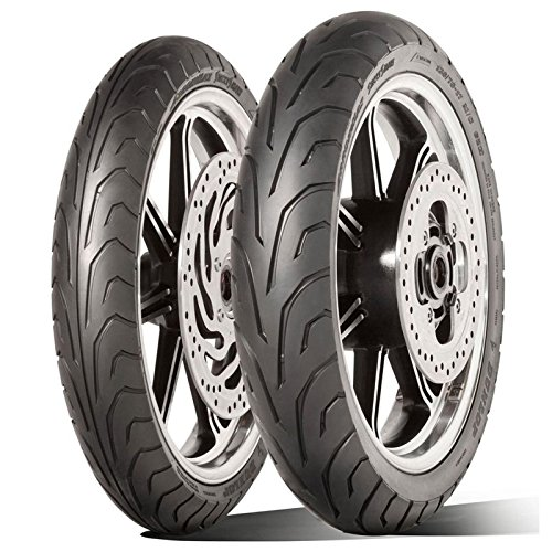 Paire Pneu pneus Dunlop arrowmax streetsmart 100/90 - 18 56 V 120/90 - 18 65 V