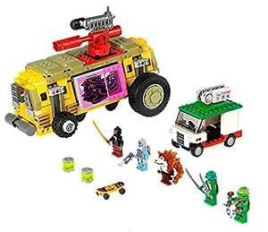 lego teenage mutant ninja turtles 301534 79104 jeu de construction la course poursuite. Black Bedroom Furniture Sets. Home Design Ideas