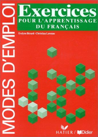 Grammaire utile du français, exercices pour l'apprentissage du français (Cahier d'activités)