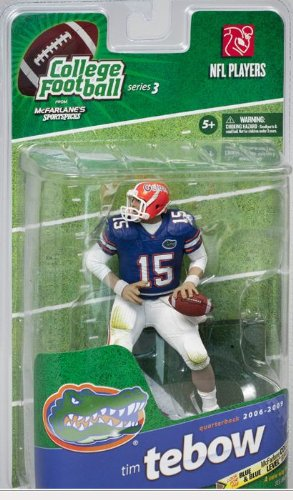 McFarlane College Football Series 3 Tim Tebow - Florida Gators -