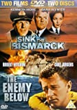 Sink The Bismark/enemy Below-dvd [Import anglais]