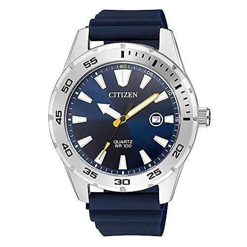 Citizen Analog Blue Dial Men's Watch-BI1041-22L