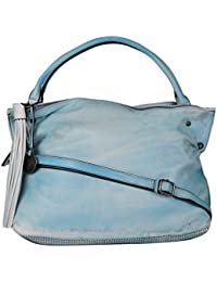 RICKYY Blue Colour Womens Tote With Adjustable Strap Trendy Handbag For Woman Girls